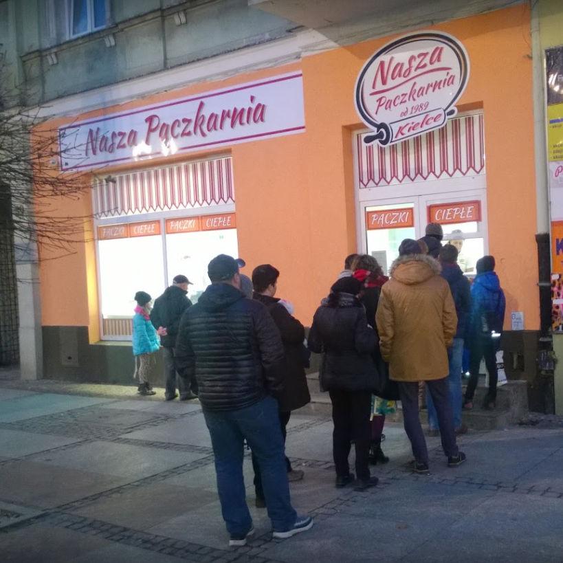 Nasza pączkarnia: ul. Henryka Sienkiewicza 39, Kielce