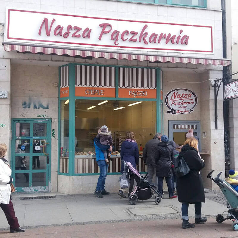 Nasza pączkarnia: ul. Świdnicka 24, Wrocław