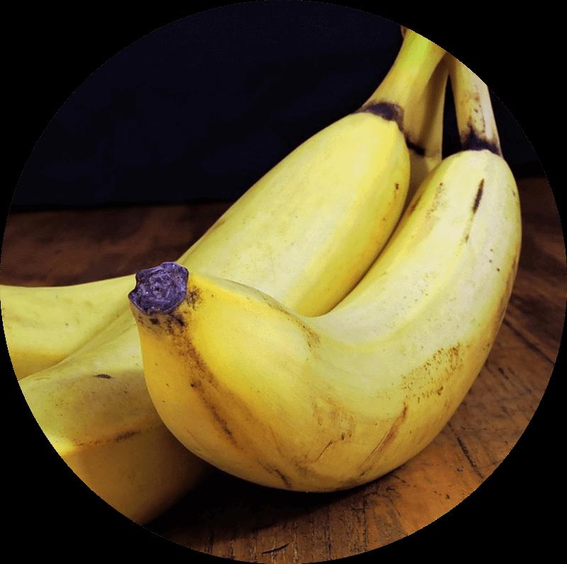 Pączek z bananem