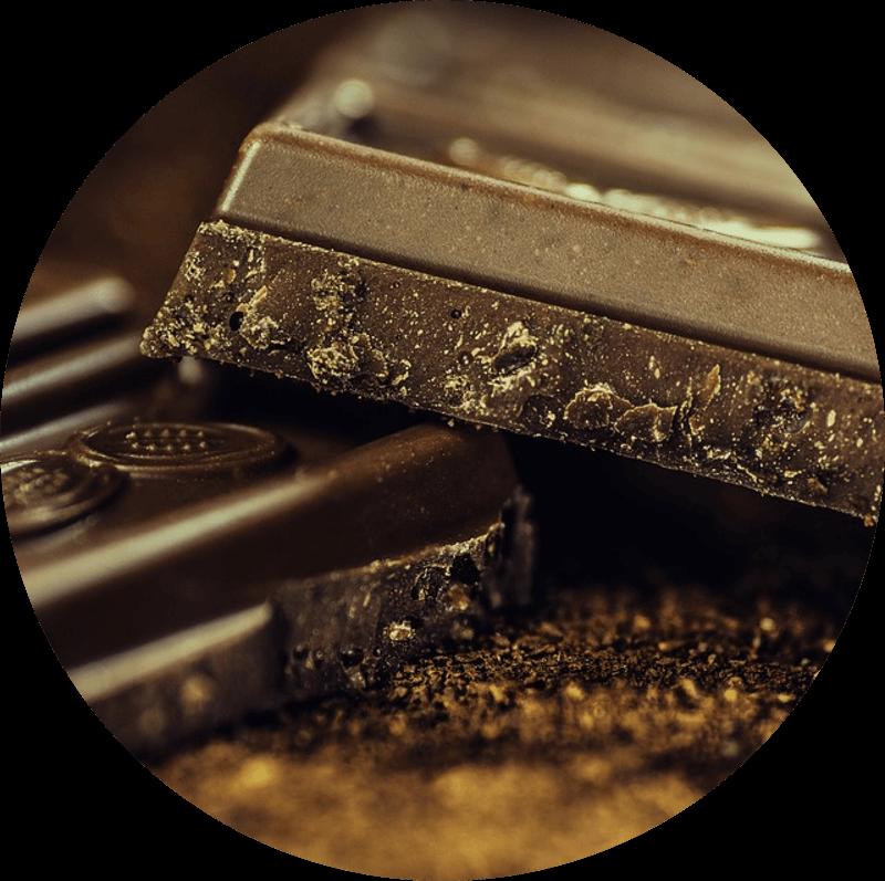Pączek z czekoladą