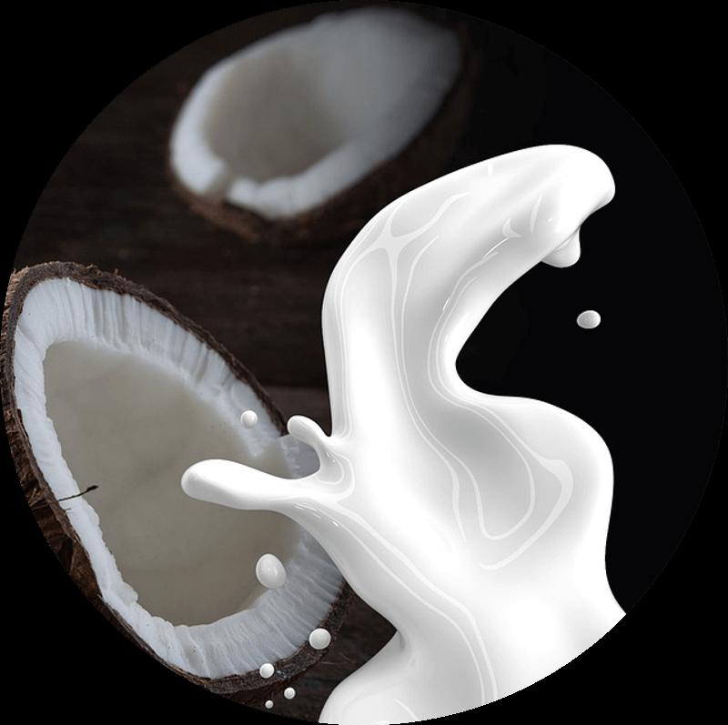 Pączek z kokosem