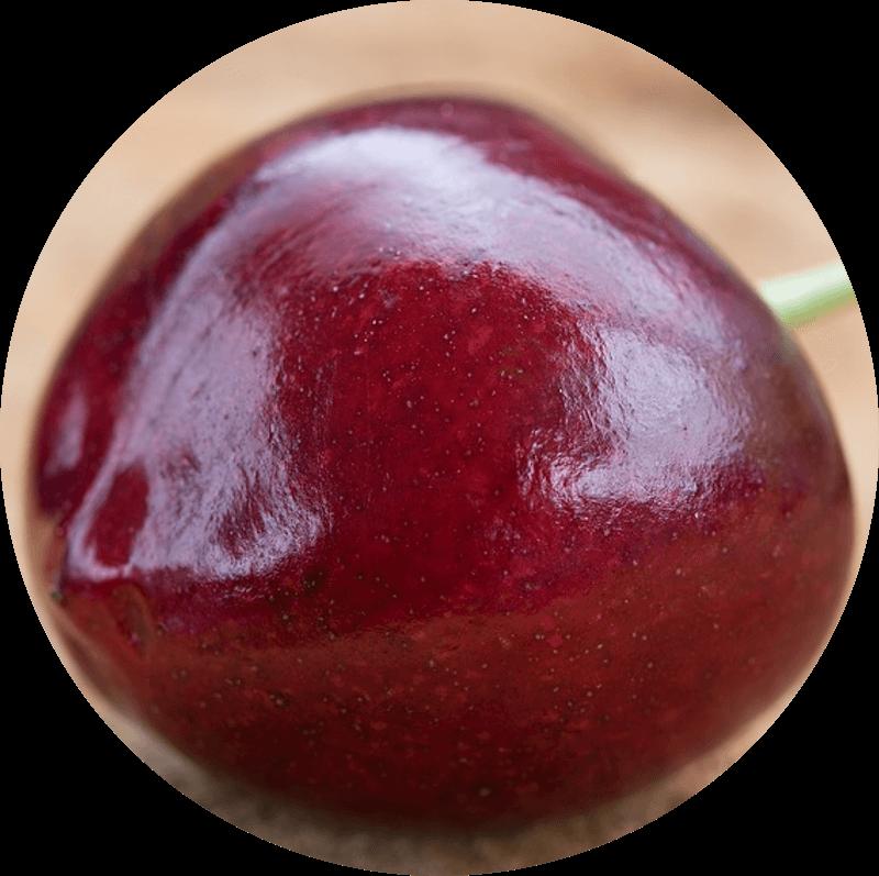 Pączek z wiśnią